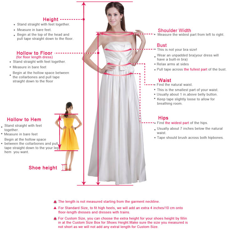 how to measure a wedding dress