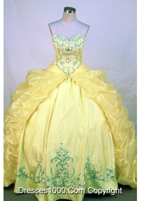 Fashionable Ball gown Sweetheart neck Floor-Length Quinceanera Dresses