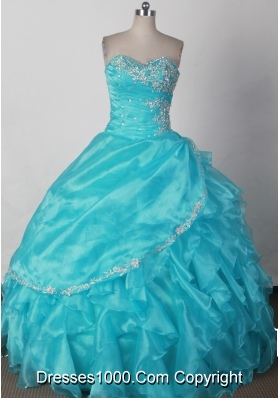 Elegant Ball Gown Strapless Floor-length Pink Quinceanera Dress