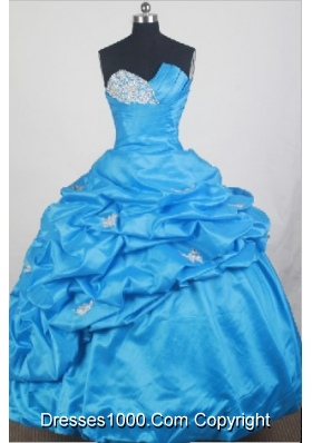 2012 Unique Ball Gown Sweetheart Neck Floor-Length Quinceanera Dresses