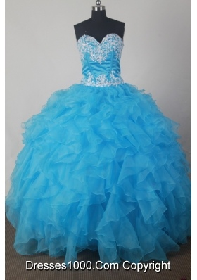 DiscountA-line Strapless Floor-length Taffeta  Quinceanera Dress