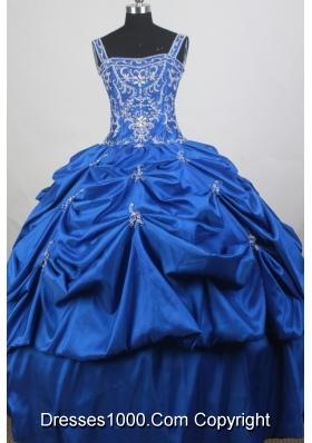 Luxurious  Ball Gown Straps Floor-length Quinceanera Dress