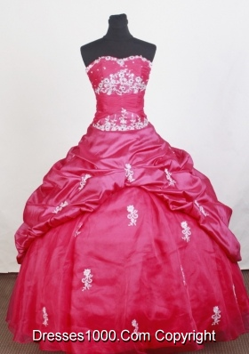Perfect Ball Gown Sweetheart Floor-length Quinceanera Dress