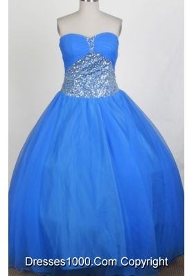 Pretty A-line Sweetheart Floor-length Quinceanera Dress