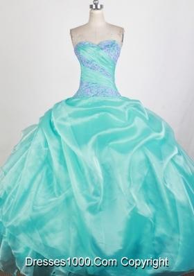 Pretty Ball Gown Sweetheart Floor-length Quinceanera Dress