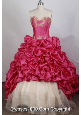 Pretty Ball gown Sweetheart-neck Sweep Train Quinceanera Dresses