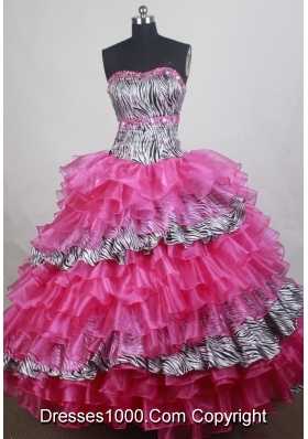 Wonderful Ball gown Strapless Floor-length Quinceanera Dresses