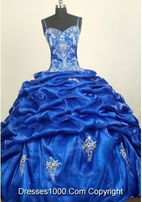 Perfect Ball Gown Straps Floor-length Quinceanera Dress