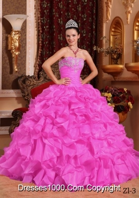 2014 Ball Gown Strapless Beading Quinceanera Dresses with Appliques
