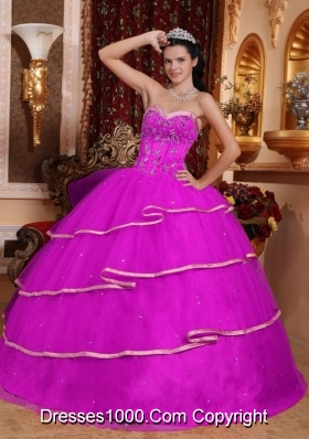 2014 Spring Puffy Quinceanera Dress Sweetheart with Beading