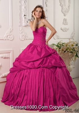 Exclusive Ball Gown Sweetheart Quinceanera Dresses with Beading