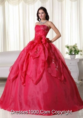 Fashionable Puffy Strapless Quinceanera Dresses with Appliques