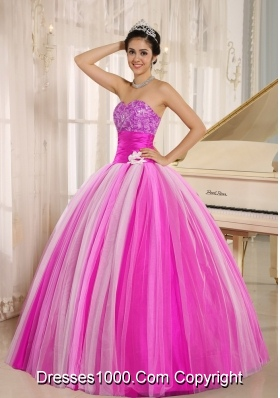 Multi-color 2014 New Arrival Strapless Quincanera Dresses with Lace-up