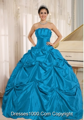 Elegant Quinceanera Dresses With Pick-ups For Custom Made