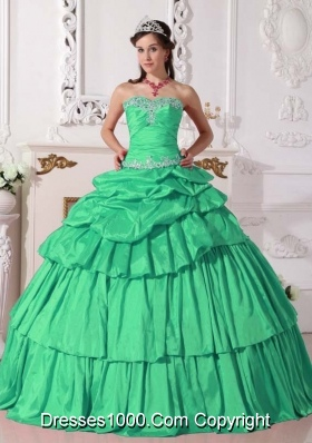 Sweetheart Detachable Quinceanera Dresses with Beading and Layers