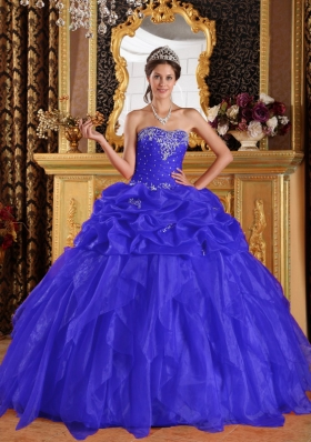 2014 Exquisite Sweetheart Appliques Quinceanera Dresses with Beading