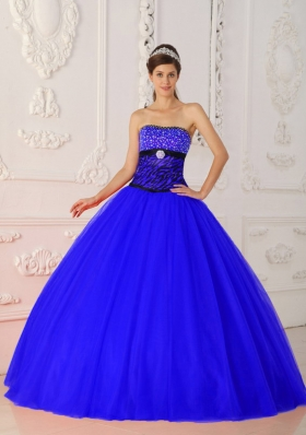 The Super Hot Princess Strapless Quinceanera Dresses with Beading