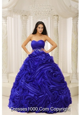 Beautiful Sweetheart Beading and Pick-ups Princess 2014 Quinceanera Dresses