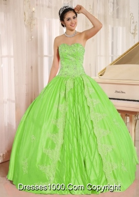 Elegant Embroidery and Beading Quinceanera Gown with Sweetheart