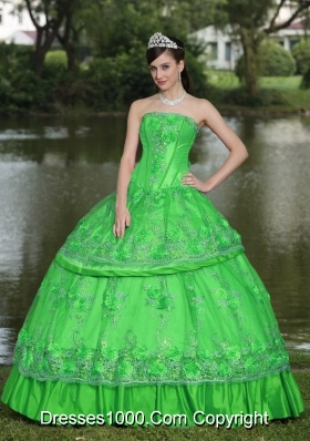New Style For 2014 Spring Quinceanera Gowns with Beading
