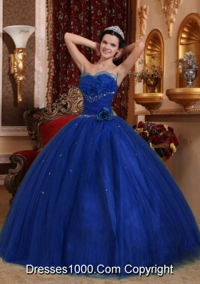 Simple Sweetheart 2014 Beading Quinceanera Dresses for Military Ball