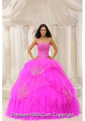 Custom Made Sweetheart Embroidery For Quinceanera Gowns In 2014 Summer