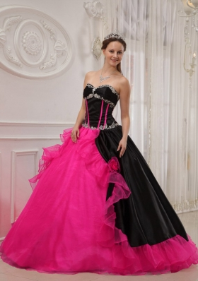 Beautiful Ball Gown Sweetheart Quinceanera Dress with Organza Appliques