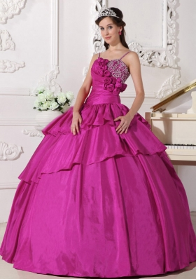 Cheap Ball Gown Straps 2014 Quinceanera Dresses with Beading