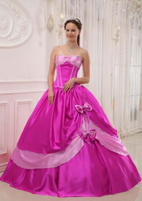 Elegant Ball Gown Sweetheart Quinceanera Dress  with Appliques Beading