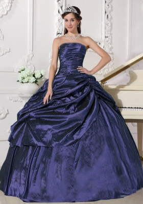 Discount Ball Gown Strapless Beading Pretty Quinceanera Dresses