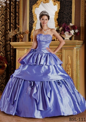 Most Popular Puffy Strapless Beading Quinceanera Dresses for 2014