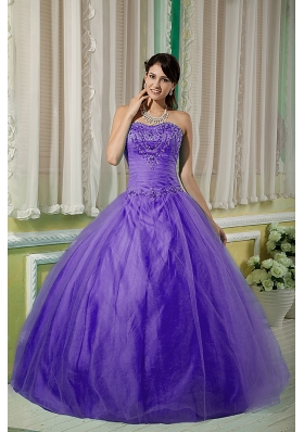 New Style Puffy Sweetheart 2014 Spring Beading Quinceanera Dresses