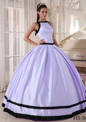 Sweet Puffy Bateau 2014 Quinceanera Dresses with Sweetheart