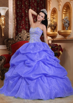 Super Hot Puffy Sweetheart Beading Long Quinceanera Dresses for 2014