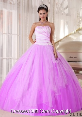 Affordable Sweetheart Tulle Sweet 16 Dresses with Beading
