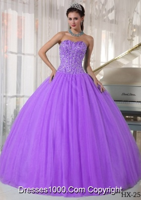Ball Gown Sweetheart Beading Quinceanera Dresses Gowns