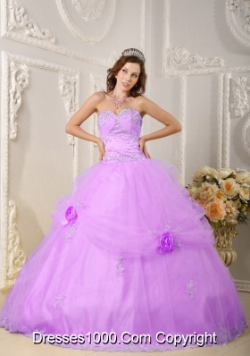 Brand New Ball Gown Sweetheart Appliques 2014 New Quinceanera Dress