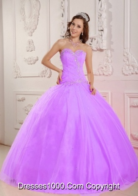 Lovely Ball Gown Sweetheart Appliques Affordable Quinceanera Dress