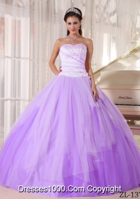 Affordable Ball Gown Sweetheart Beading Quinceaneras Dress