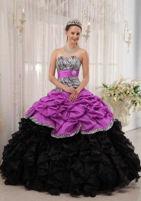 Brand New Sweetheart Quinceanera Dress with Pick-ups and Beading