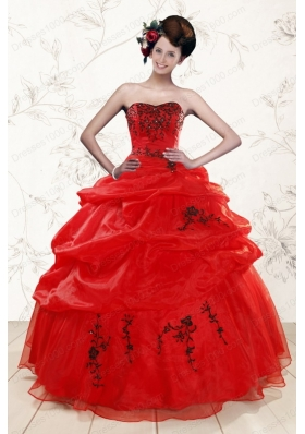 Perfect Sweetheart Quinceanera Dresses for 2015