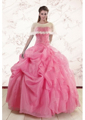 Most Popular Ball Gown Discount Quinceanera Gowns with Beading