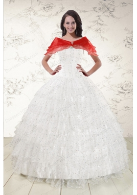 Most Popular Formal Quinceanera Gowns with Sequins and Ruffles