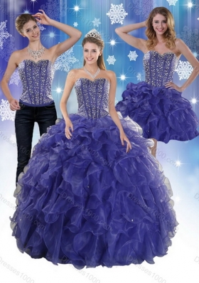 The Unique and Detachable Super Hot Beading and Ruffles Quince Dresses