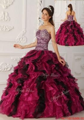 Summer Elegant Multi Color Ball Gown Floor Length Quinceanera Dresses