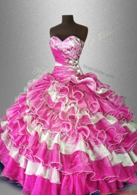 Multi Color Fashionable Quinceanera Dresses with Beading
