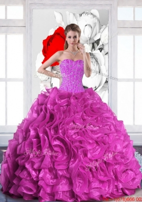 Most Popular Quinceanera Gowns with Beading and Ruffles