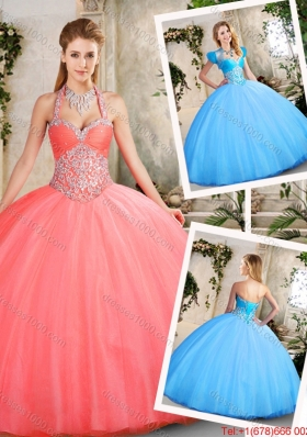Latest Ball Gown Sweetheart Beading Quinceanera Dresses