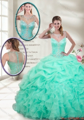 Classical Ball Gowns Mini Quinceanera Gowns with Beading
