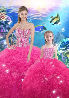 Lovely Ball Gown Princesita With Quinceanera Dresses with Beading and Ruffles for 2016